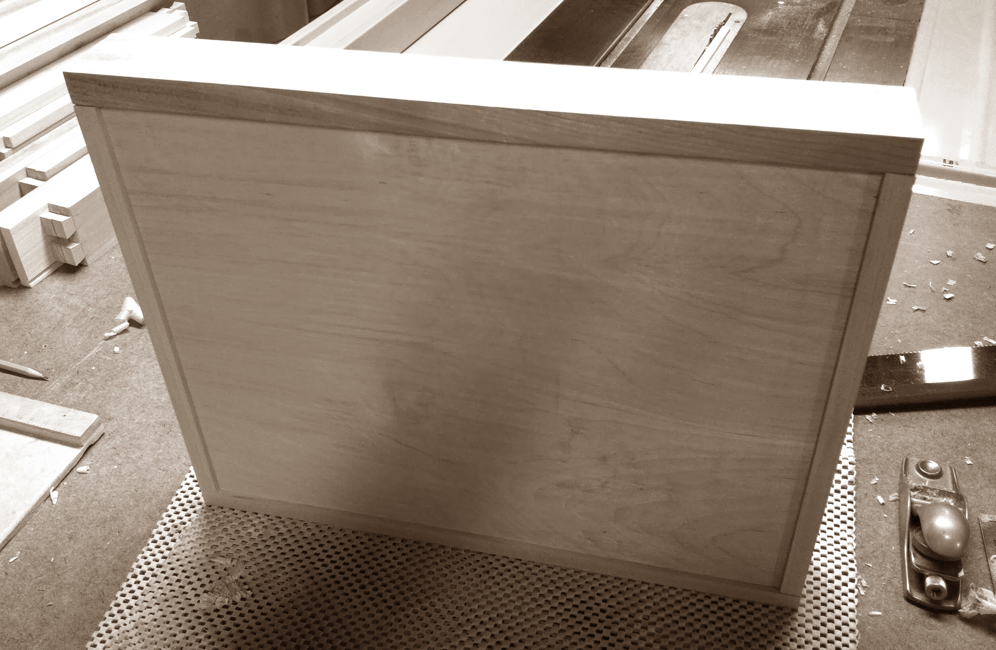 First drawer bottom