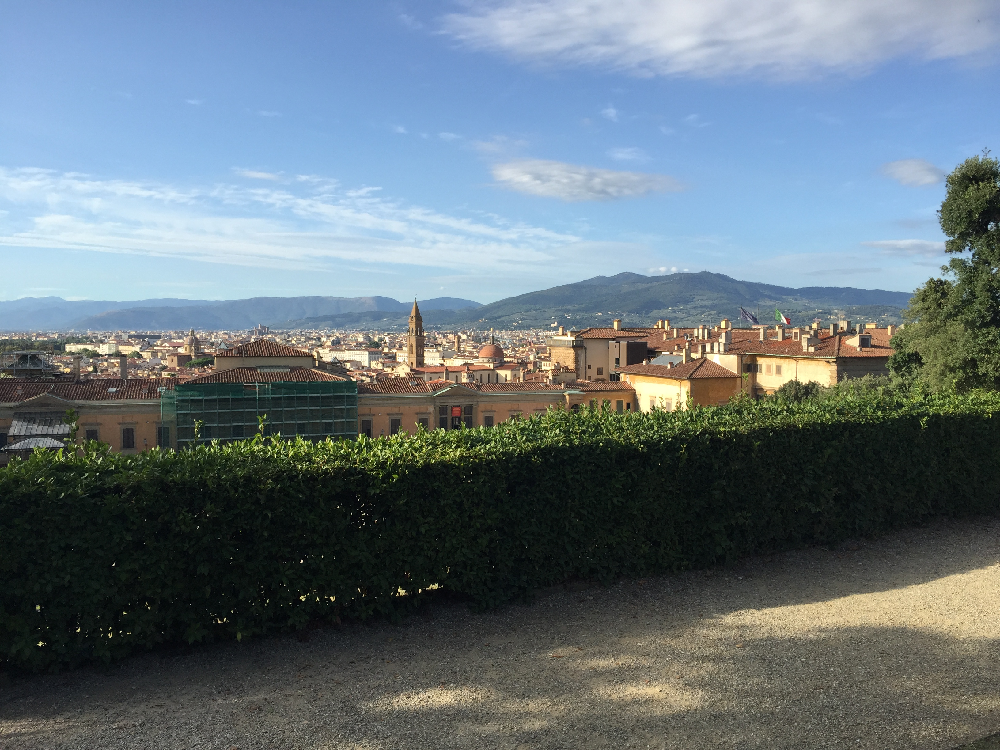 View of Florence from the Boboli Gardens