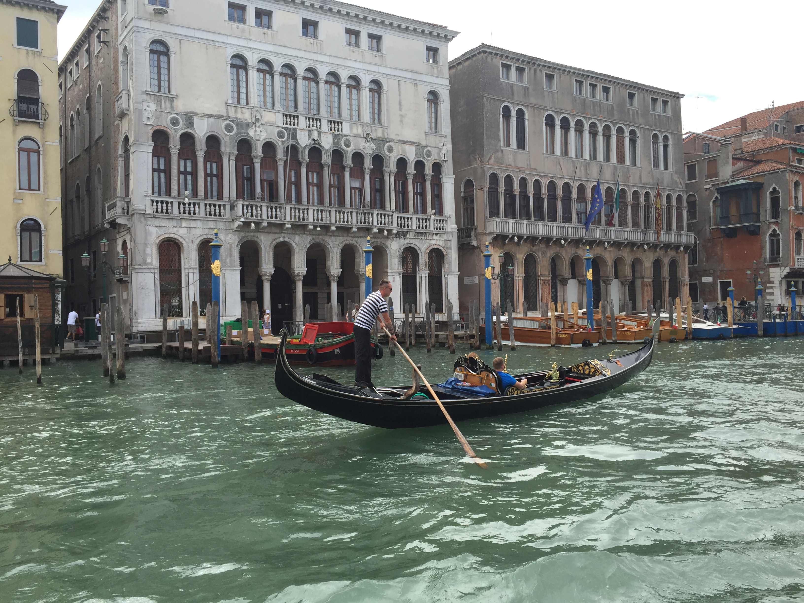 Venice-Gondola on the Grand Canal