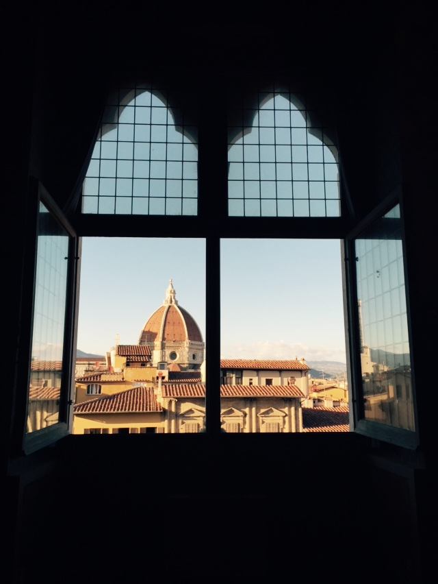View of the Cathedral from the Palazzo Vecchio