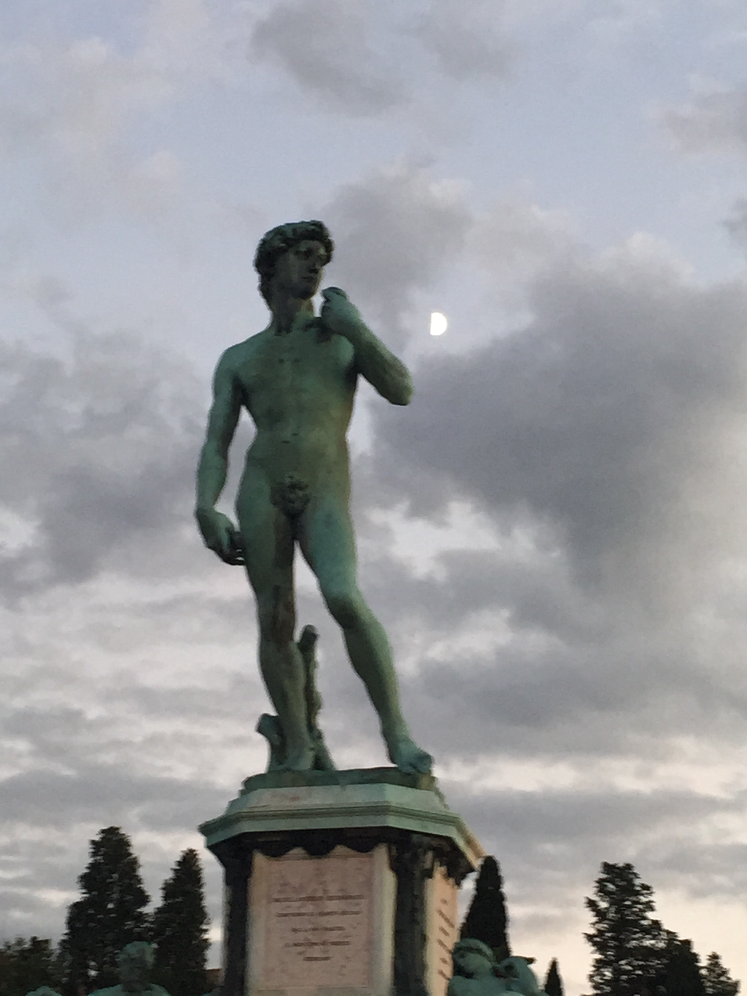 David and the Moon