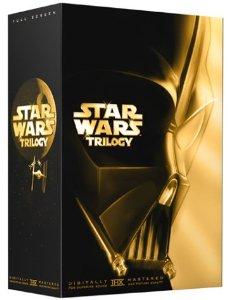 Star Wars Original Trilogy DVD box set