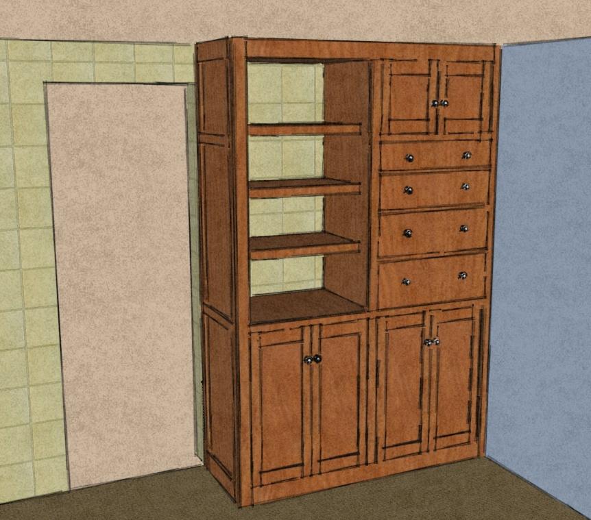 Rev 1D Design as Sketchup render