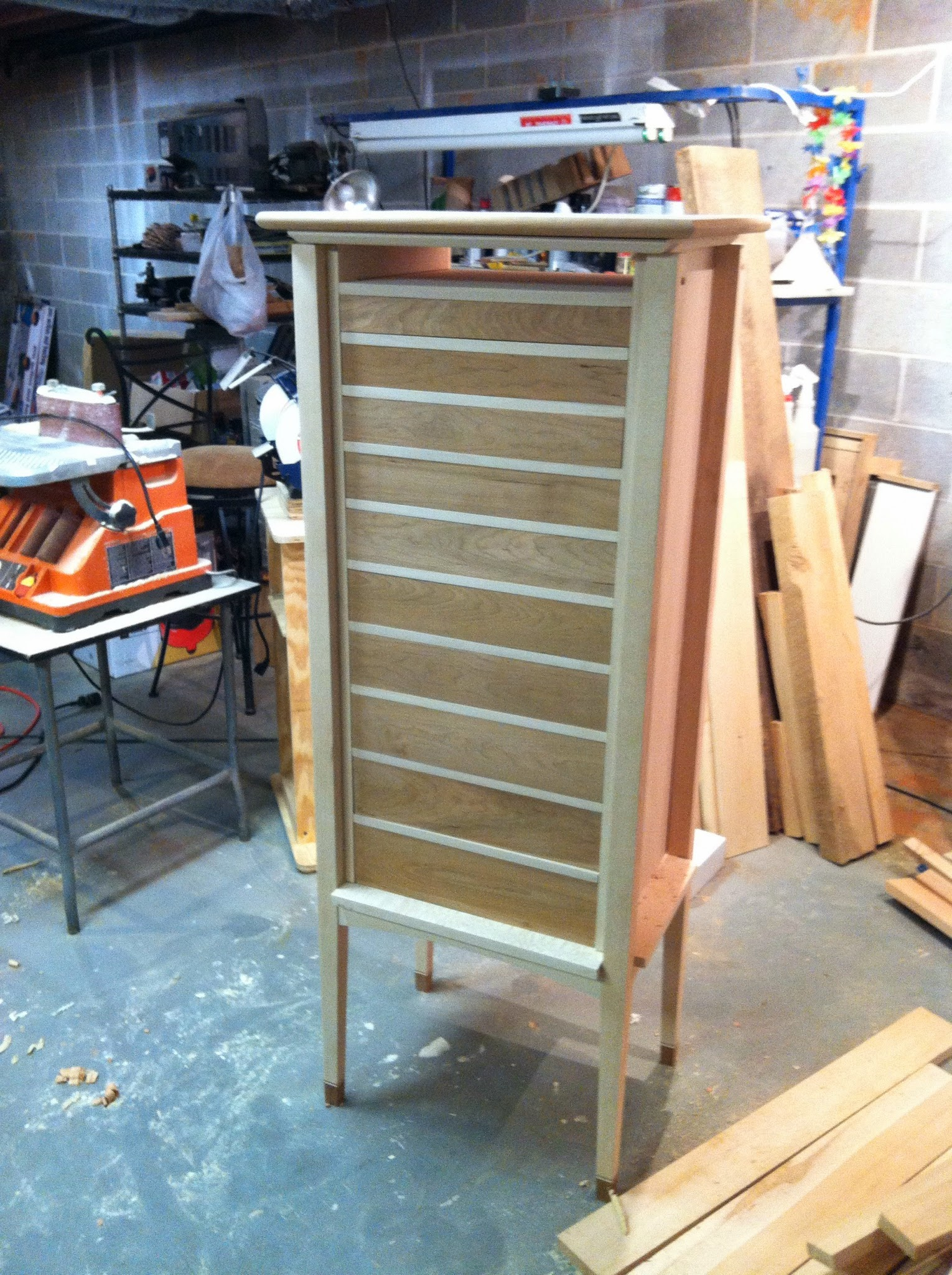 Last two drawers completed and in place