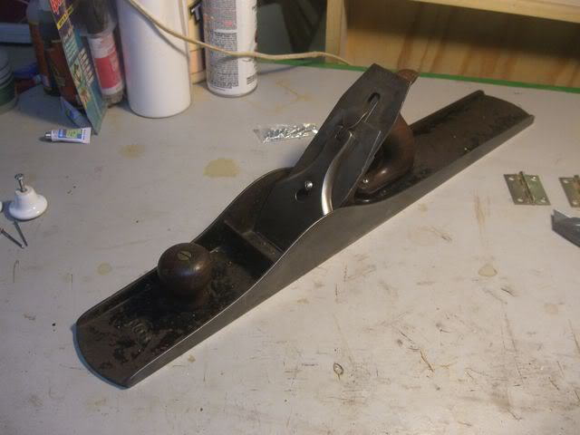Stanley No. 8 hand plane, Type 7