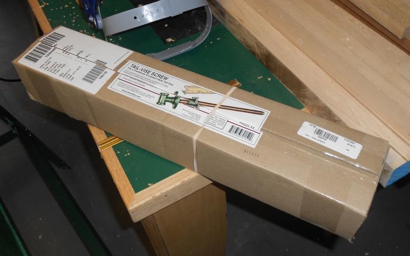 Leg vice hardware arrives
