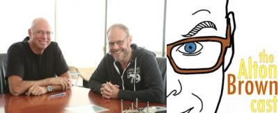 Bob Taylor and Alton Brown on the Alton Browncast, episode #18.