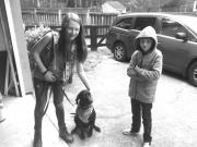 My helpers - Liam, Elle, and Remington