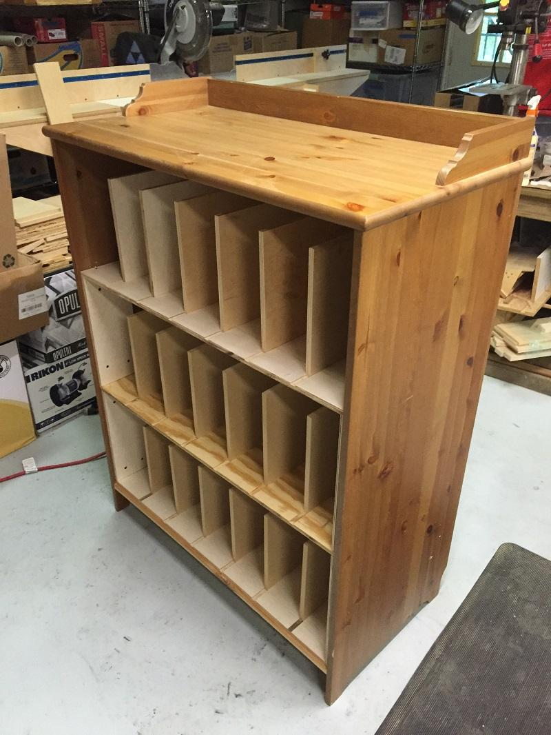Convert Cabinet To File Drawer Glass Cabinet Conversion Of Ikea Chest Of Drawers Wood Insights