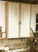 Tool cabinet after new facade was installed in Dec 2012